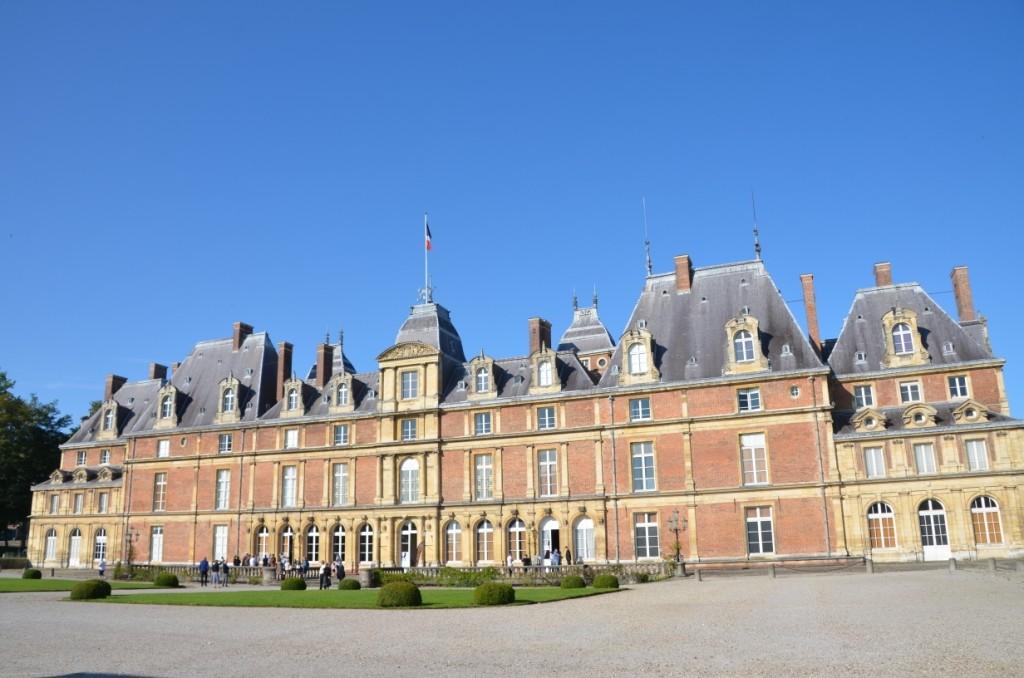 Château du roi Louis Philippe à Eu 13 sept