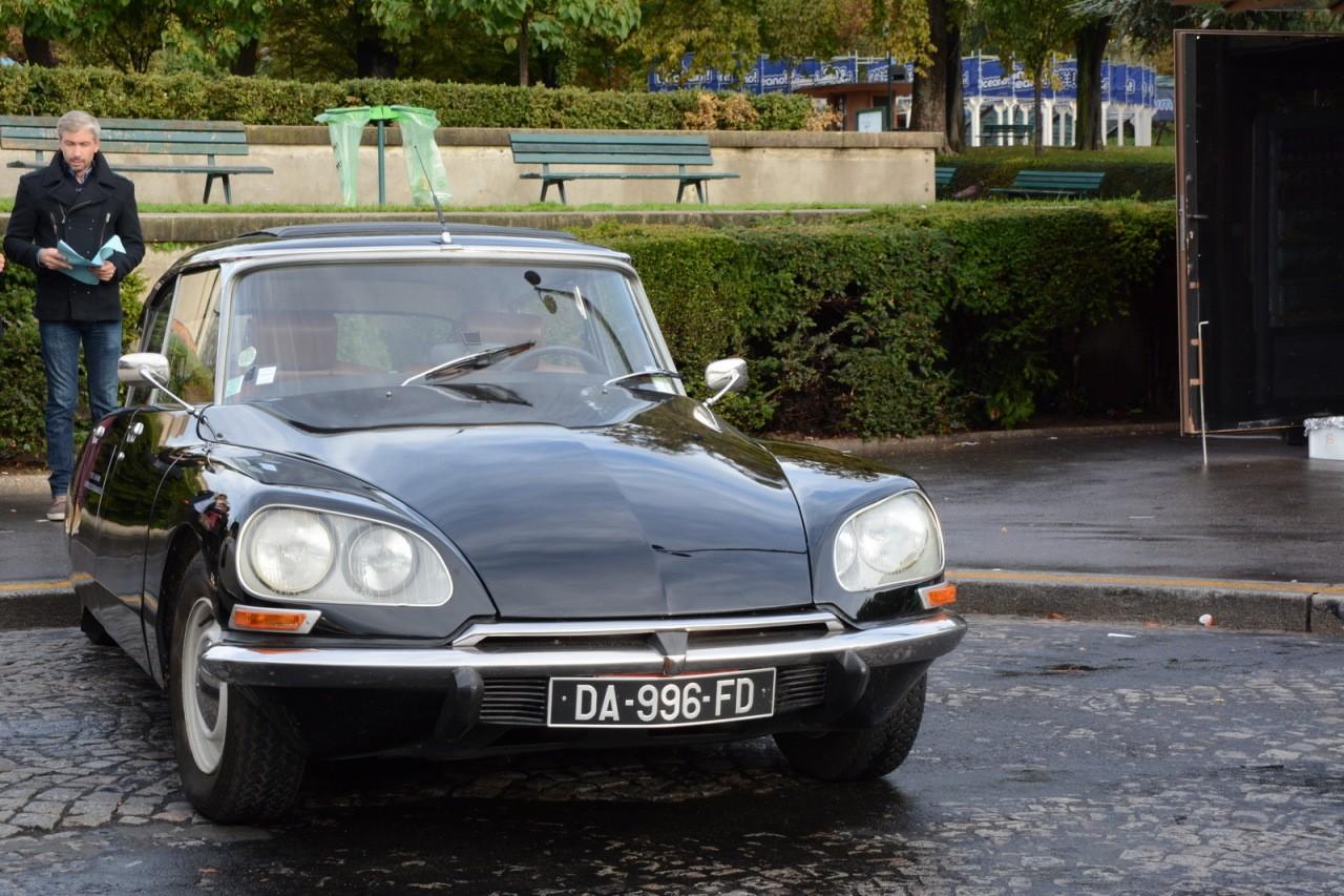 Citroën DS 60 ans tour Eiffel 02