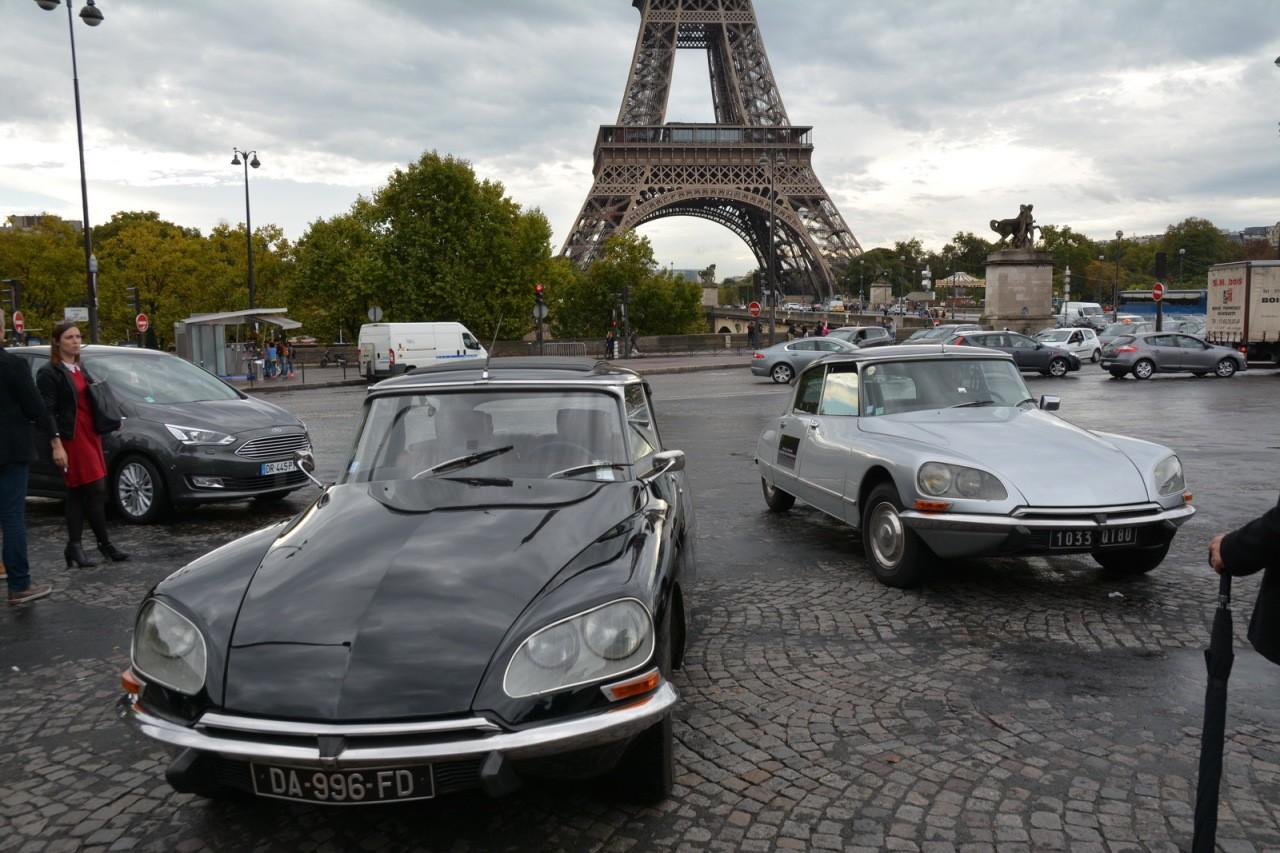 Citroën DS 60 ans tour Eiffel 07