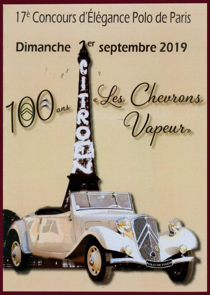 Les Chevrons Vapeur au Polo de Bagatelle/2019