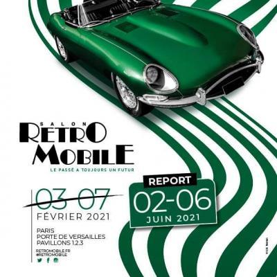 Affiche retromobile nouvelle date 2021
